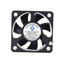 5015 DC 12V50X50X15мм 50мм 4 см 5015 бесшумный вентилятор охлаждения отработавших газов для 3D-принтер