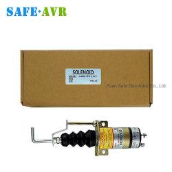 12VDC 24V Dieselmotor-Kraftstoff-Absperrvorrichtung-Generator-Endmagnetventil 366-07197