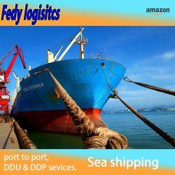 Taxa de frete marítimo China Shenzhen Guangzhou para a Índia Professional Agentes de transporte de carga rápida mais barata encaminhador de logística DDP taxas do oceano de Serviço Expresso de Ar