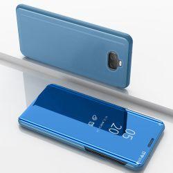 Effacer la fenêtre Smart miroir étui pour téléphone mobile d'affaires de luxe pour Sony Xperia 10 Plus