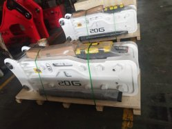 Puissante machine de construction de pièces d'excavateur 16-21tonne Hb20g marteau hydraulique