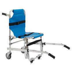 Медицинское оборудование из алюминиевого сплава с декой зал Складная лестница в чрезвычайных ситуациях носилок с четырьмя колесами