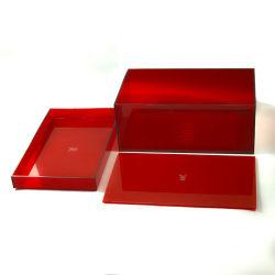 전시를 위한 관례에 의하여 전문화되는 케이스 상자