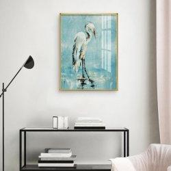 Photo murale moderne des oiseaux de mer de cristal de la peinture en porcelaine de la photographie de mode Photo sur toile imprime des affiches le décor des chambres20x30inch