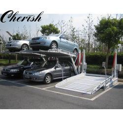ارتفاع منخفض الارتفاع هيدرولي مزدوج السطح/المستوى/الطبقة ثنائي الطبقات/الإمالة/الإمالة العمودية Parking Stacker/Hoist Parking Lift (رفع موقف وحدة التجميع