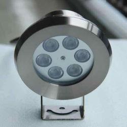 LED in acciaio inox 9 W 12 V impermeabile IP68 per esterni in immersione Fontana di stagno luce per piscina subacquea