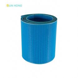 Máquina de papel tecido de poliéster formando Wire Mesh Pressione sentida tripla camada simples Duplo Pequeno Médio Grande tela plana em espiral de loop de fios redondos de fios de tecido do secador