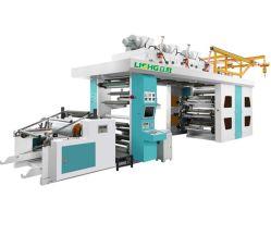 CI Flexographic Printing machine met CE voor papier plastic folie Geweven tas