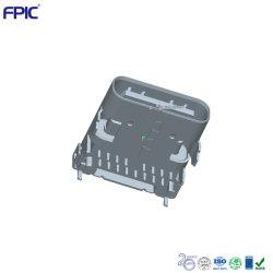 USB2.0 タイプ C プラグ、 TID 認定 16 ピンメス コネクタ電子部品