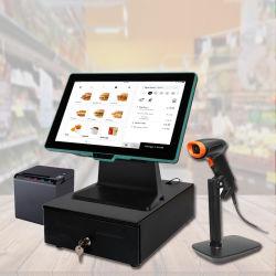 14 بوصة كمبيوتر سطح المكتب POS Terminal Electronic Cash Register with Android7.1 خدمة WiFi لتخفيضات المطاعم (HCC-A9650)
