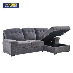 Sofá de 3 plazas portátil y reutilizable de alto estándar con tamaño medio Atrás