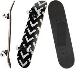 Precio de mayorista 31 PRO completo de 7 capas de skate Skate Deck de madera de arce