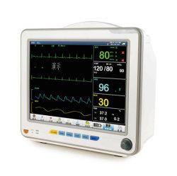 Medical Hospital 12.1 inch Mini Portable patiënt aan bed met meerdere parameters Monitor met vitale waarden