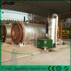 النفايات التقنية العالية زيت التحلل الحراري آلة تكرير النفايات إعادة تدوير الإطارات إلى زيت الوقود