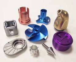 PPTFE Peek PVD Material Precision CNC المكون المُشكّل بشكل مُمكن السماح بـ 0.01مم