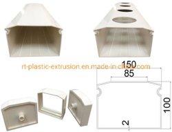 Nft canales/tubo compuesto de PVC y tubos para la aplicación de la hidroponía
