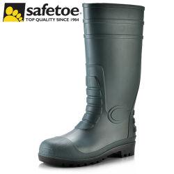 De Ce Goedgekeurde S5 Zware Industriële Laarzen van de Regen van pvc van de Teen van het Staal