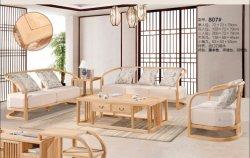 Mobilia moderna del salone del sofà di svago del sofà del sofà di legno solido del sofà del salone