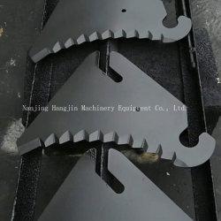 Misturador de alimentação hidráulica da lâmina de corte