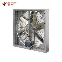 Melhor qualidade Cow-House Hanging exaustão ventilação ventilador de arrefecimento para aves de capoeira / gado / Cow Casa/gado/Husbandry com anel de Pulverização