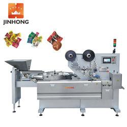 JH-Z1205 High Speed Automatic Full Candy Toffees كرات الشوكولاته Horizontal تدفق Pillow التغليف التغليف آلة التغليف / آلة تغليف الطعام