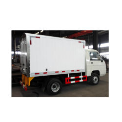 Foton Caja Mini Van camión de carga de camiones van de refrigeración