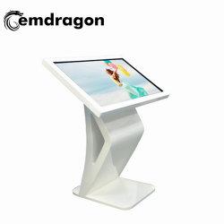 42-дюймовый горизонтальной большого размера лобби киоск с сенсорным экраном WiFi/3G клеммы Allinone сенсорный дисплей рекламы