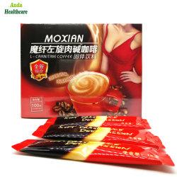 Le café certifié BPF Minceur rapide, des aliments Santé extrait de plante Moxian L- Carnitine Slimming Café pour la perte de poids et Fat Burn (10g *10 sacs)