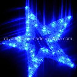 LED 훈장 별 거는 훈장 크리스마스 LED 훈장 빛