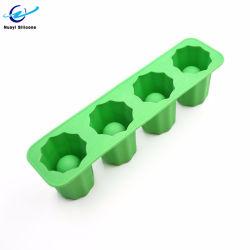 Criativa de silicone de alta qualidade em Concha Bandeja de cubos de gelo