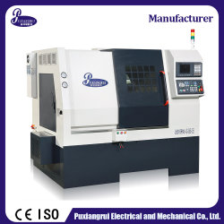 Fabriqué en Chine Fabricant lit oblique à l'horizontale PT46h tour CNC Machine-outil de coupe avec prix d'usine pour pièces de rechange Auto Moto en acier inoxydable