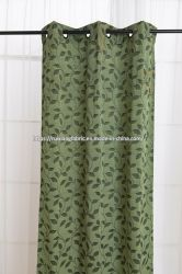 Venda quente 2020 Novo design fashion de poliéster/algodão Cortina da janela da sala de estar, quarto de cama, Cortina decorativas Fabric