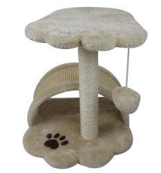 Huis van de Kat van de Toren van Scratchingtree van de Kat van het Huisdier van de Leveranciers van China het Unieke Houten