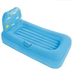 Almofada insuflável Funny flocados dormindo Kids Airbed macio para crianças