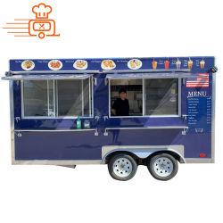 2020 Austrial/Newzland/USA Venta caliente al aire libre personalizados barbacoa de la calle/Ice Cream/francés freidora concesión Retro Van carretilla Mobile Carreta/Trailer de Fast Food/Snack