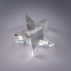 Étoile de gros d'usine de l'artisanat en forme de don de sulfure de Verre en cristal K9