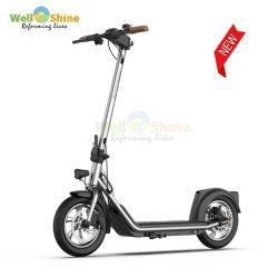 Scooter elétrica dobrável de 12 polegadas com 36 V para adultos Scooter eléctrica