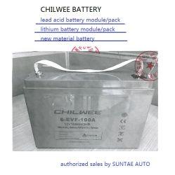 VRLA Chilwee Valve Regulated Lead Acid Battery Pack 12V100Ah pour le stockage de l'Énergie, voiture électrique, chariot électrique