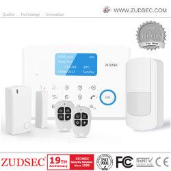 Segurança Doméstica Dual-Net PSTN Intrusão alarme GSM com controle de aplicativos