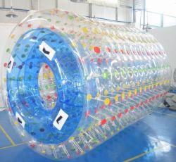 Grand rouleau de marche de l'eau gonflable ballon pour jeux d'eau