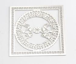 Op maat gegraveerd Aluminium/Messing/RVS badge/naamplaatje/metalen labels