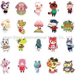 2021 도매 동물 크로싱 : 유리 봉 / 유리 컵 / 노트북 / 전화 / 닌텐도 스비치를 위한 뉴 호라이즌스 팝 스티커