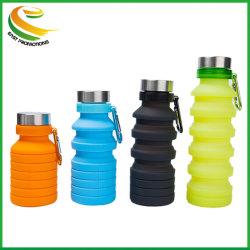 Desportos ao ar livre executando o evento de corrida Recolhível Hidratação de dobragem balão macio Cup garrafa de água