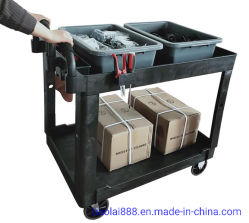 Poignée plastique soulevé 500 lb. Utilitaire de la capacité Serviec Panier