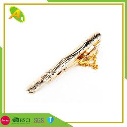 Kundenspezifisches Schwarzes/Gold/Silber überzogener Metallandenken-Geschenk-Metallgleichheit-Stab (007)