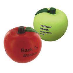 Personnalisé Apple de haute qualité des fruits de soulager le stress balle en mousse PU