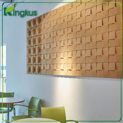 Cube Suger fibre polyester 3D Panneau acoustique pour décoration murale