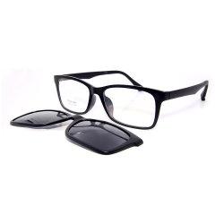 Prêt Stock lunettes polarisées magnétique de gros châssis optique lunettes de soleil