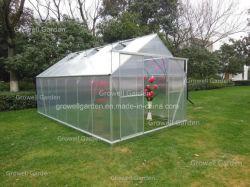 Выбросов парниковых газов Growell 4мм поликарбоната в панели хобби выбросов парниковых газов в саду с (P8)