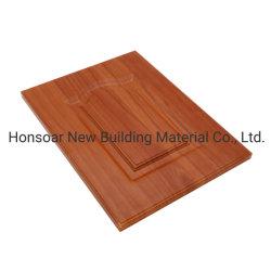 O PVC Thermofoil/Porta do armário de cozinha porta, parte do mobiliário com a norma ISO9001 FSC SGS